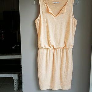 Athleta Peach Coral Casual Dress SZ S